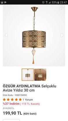 Ceiling Lights, Lighting, Pendant, Home Decor, Homemade Home Decor, Light Fixtures, Ceiling Lamps, Pendants, Lights