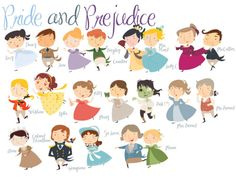Delightful! I can see it now...coming to your PBS after-school lineup, Pride and Prejudice: The Animated Series.