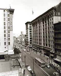 Pacific Electric Building circa 1943