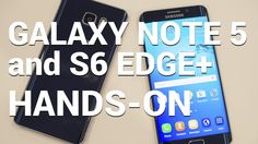 Be sure to watch our Galaxy Note 5 and S6 edge+ hands-on video! http://phon.es/1lbxn #android