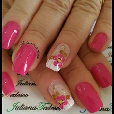 Love Nails, Pretty Nails, My Nails, Nail Art Photos, Christmas Nail Art, Fabulous Nails, Mani Pedi, Spring Nails, Nails Inspiration
