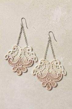 Lace earrings