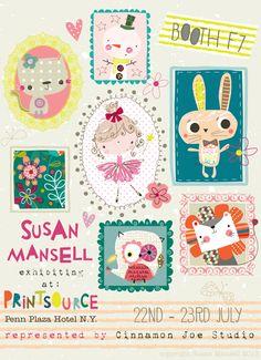 print & pattern- Susan Mansell