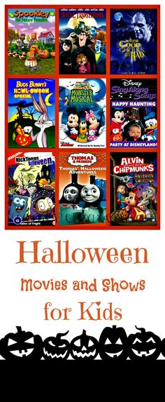 Fantastic List of Halloween Movies and Shows for Kids!