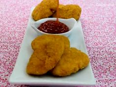Nuggets de pollo - Can Tutorial and Ideas Cooking Icon, Cooking Time, Toddler Meals, Kids Meals, Baby Food Recipes, Mexican Food Recipes, Food Art For Kids, Healthy Lunches For Kids, Sandwiches