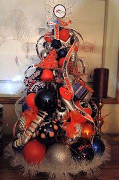 Denver Broncos Christmas tree | Official Denver Broncos Fan ...