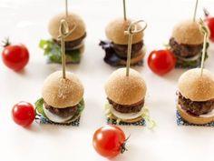 Mini hamburguesas. Recetas fáciles para niños