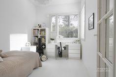 El blanco y las fibras naturales son la pareja perfecta | Decorar tu casa es facilisimo.com
