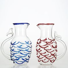 Red Fish Tail Jug - Shop Casarialto online at Artemest