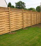 cool semi private fence