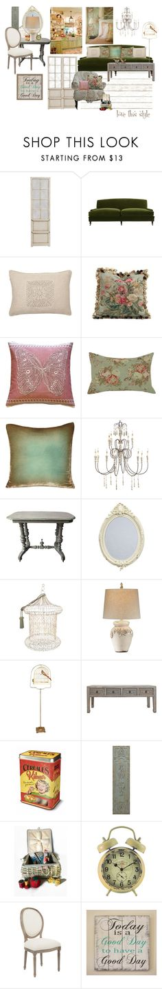 """""""love this style #2"""" by confusgrk ❤ liked on Polyvore featuring interior, interiors, interior design, home, home decor, interior decorating, Home Decorators Collection, Jayson Home, Aubusson and Pillow Decor"""