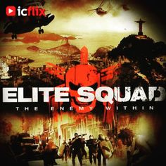 Watch Elite Squad on #icflix 1997, Captain Nascimento has to find a substitute for his occupation while trying to take down drug dealers and criminals before the Pope comes to Rio de Janeiro #EliteSquad #Brazil #BrazilianMovie #RioDeJaneiro #JoséPadilha #CaioJunqueira #AndréRamiro #WagnerMoura http://www.icflix.com/#!/movie/7c784630-1303-4773-82ff-6a1299be5b5c