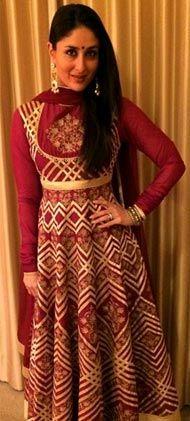Kareena Kapoor Khan looking splendid in this Rohit Bal creation