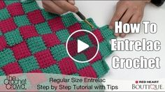 Best 12 Tunisian crochet is hot! We've used the special tunisian entrelac crochet technique to make a cheerful pillow cover. Get the – SkillOfKing. Tunisian Crochet Patterns, Modern Crochet Patterns, Dishcloth Knitting Patterns, Crochet Designs, Crochet Stitches, Puff Stitch Crochet, Gilet Crochet, Crochet Crowd, Crochet Quilt