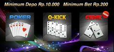 Gabung di Agen Poker Online Aman dan Terpercaya,Kingpoker99 adalah situs Agen Poker Online resmi yang Aman dan Terpercaya juga melayani 24 jam dengan Ramah