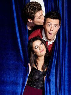 Mathew Morrison, Cory Monteith and Lea Michele ~ 'Glee' EW Photo Shoot October 2009 ~ #ewportraits #ewphotoshoots