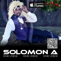 Check out hot new single One Voice by entertainer and singer Solomon A on iTunes now https://itunes.apple.com/us/album/solomon-a/id413883651