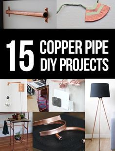 15 copper pipe DIY projects