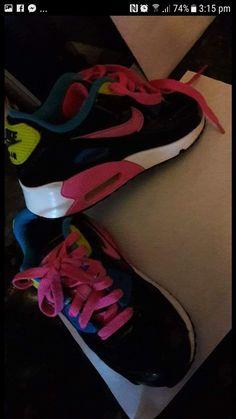 Air Max 90, Nike Air Max, Pink Nikes, Sneakers Nike, Shoes, Fashion, Nike Tennis, Moda, Zapatos