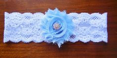 Something Blue Garter Blue Garter Lace by BloomsandBlessings, $9.00