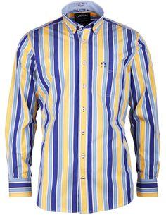 Dieses Herrenhemd aus der Marina Del Sole Kollektion von CLAUDIO CAMPIONE ist ein echter Eyecatcher.