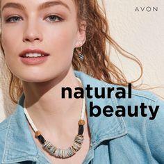 Skin So Soft, Natural Skin, Natural Beauty, Avon Representative, Fresh Face, Summer Looks, Medium, Shells, Beads