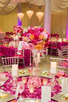 Bold and Beautiful Hot Pink Wedding!!!