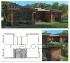 Casa V in X-Lam progetto