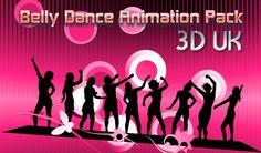 3DUK Belly Dance Pack