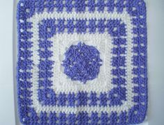 Majesty Square 12 Crochet Square Pattern