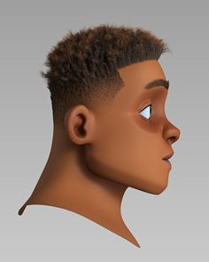 Character Face Study on Behance Fantasy Character, 3d Model Character, Character Modeling, Character Art, 3d Modeling, Zbrush Character, Animation Character, Character Sketches, Face Illustration
