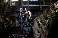 Black wedding dress Colored wedding dresses   Big Fashion Show black wedding dresses