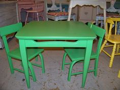 Annie Sloan Antibbes. Child size table
