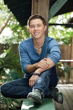 Scotty McCreery ...one of those voice doesn't go with the face
