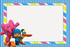 Invitaciones De Cumpleaños Pocoyo Para Poner De Fondo 2  en HD Gratis 2nd Birthday, Birthday Parties, Festa Monster High, Reveal Parties, Baby Party, Baby Decor, Baby Shower Cakes, Holidays And Events, Party Themes