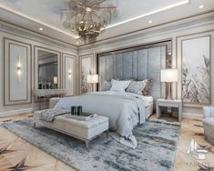 Modern Luxury Bedroom, Luxury Bedroom Furniture, Master Bedroom Interior, Luxury Bedroom Design, Room Design Bedroom, Home Room Design, Luxurious Bedrooms, Home Decor Bedroom, Luxury Interior