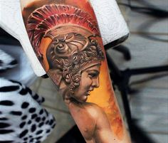 Legionary tattoo by Led Coult