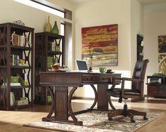 13 best office images on pinterest home office desks brown finish rh pinterest com