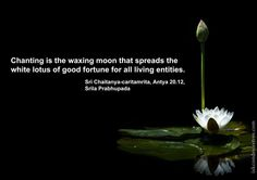 ... that spreads the white lotus of good fortune for all living entities