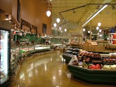 Whole Foods Market (Wall Finishes/ Lighting) (Green Refrigeration Cases)