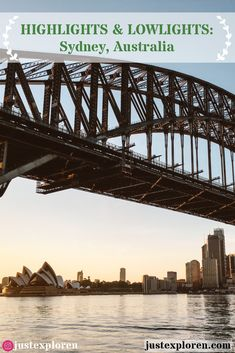 Going to Sydney, Australia? Here are a few of the 'do not miss' attractions