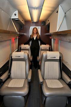 Sportsmobile Custom Camper Vans - Executive Travel Vans