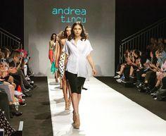 Catwalk Andrea Tincu Vienna Fashion Week #fashiondesigner #newcollection #viennafashionweek #trends #summer2018 #catwalk #instagood #instadaily #style #instamoda