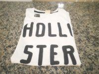 Camiseta Hollister Tamanho XG