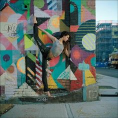 Ballerina Project - Colors of Williamsburg with Kate Ann Behrendt by Dane Shitagi Ballerina Project, Dance Project, Project 4, Dance Photos, Dance Pictures, Maya Hayuk, Street Art, Street Graffiti, Dance Like No One Is Watching