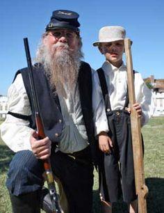 Fort Verde Days Re-enactors