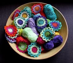 Japanese Flowers made by the Danish blog MumsBoven