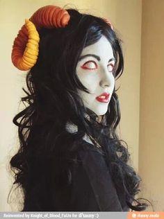Aradia cosplayer