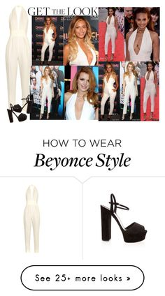 Designer Clothes, Shoes & Bags for Women Alesha Dixon, Beyonce Style, Beyonce Knowles, Bella Thorne, Get The Look, Jumpsuit, Gucci, Polyvore, How To Wear