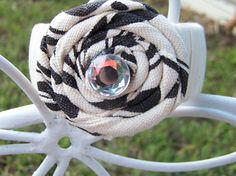 Boho Flower Bangle Bracelet by TheQueensDaughters on Etsy, $8.00